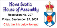 Nova Scotia House of Assembly
